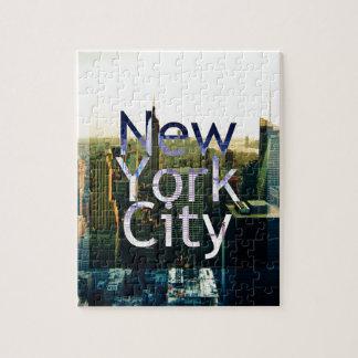 New York City Souvenir Puzzle