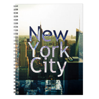 New York City Souvenir Spiral Notebook