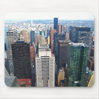 New York City Square Mouse Pad