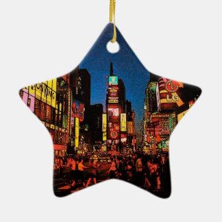 New York City Star Ornament