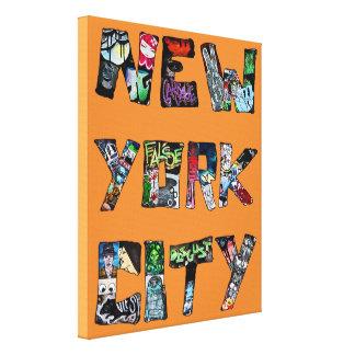 New York City Street Art Box Canvas