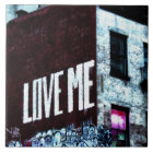 New York City Street Graffiti Photo Tile