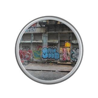 New York City Street Urban Photo Bluetooth Speaker