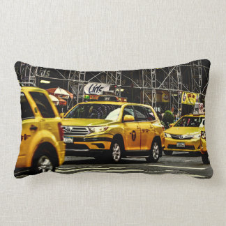 New York City Street Urban Photo Lumbar Cushion