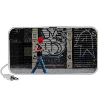 New York City Street Urban Photo Notebook Speakers