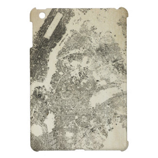 New York City Streets and Buildings Vintage Map Case For The iPad Mini