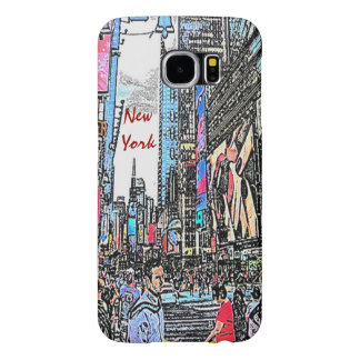 New York City Streets Samsung Galaxy case