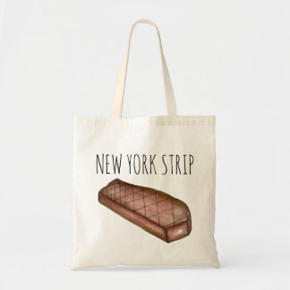 New York City Strip NYC Grilled Steak Meat Tote