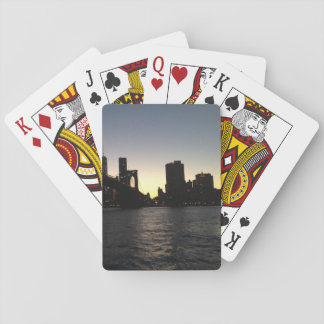 New York City Sunset Playing Cards
