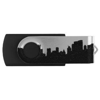 New York City Swivel USB 3.0 Flash Drive