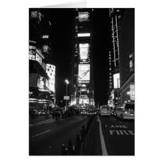 New York City Time Square Card
