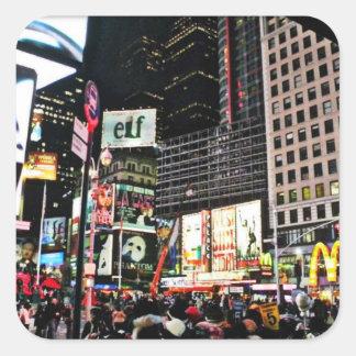 New York City Times Square Sticker