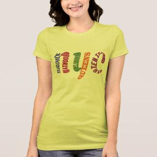 New York City Typographic NYC Initials T-Shirt