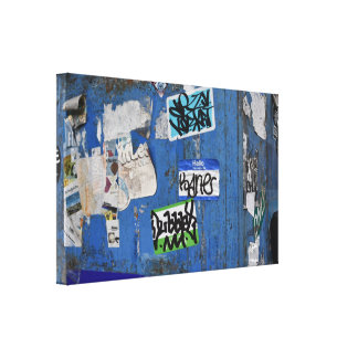 New York City Urban Graffiti Street Art Photograph Canvas Print