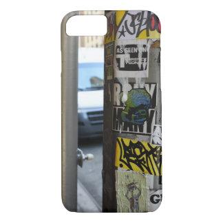 New York City Urban Graffiti Street Art Photograph iPhone 8/7 Case