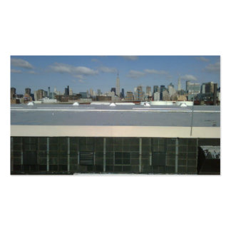 New York City View Business Card