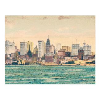 New York City Vintage Postcard