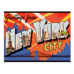 New York City Vintage Travel Post Cards