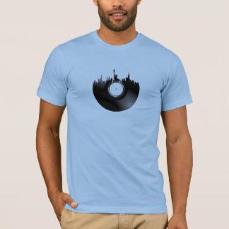New York City Vinyl Record T-Shirt