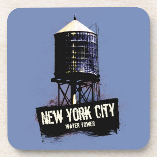 New York City Water Tower Coaster Set