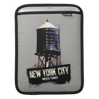 New York City Water Tower iPad Sleeve