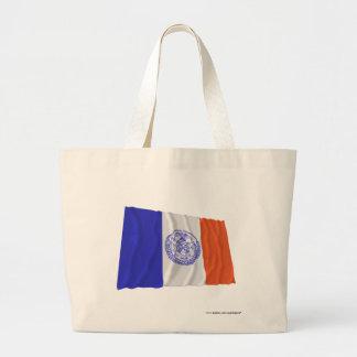 New York City Waving Flag Bags