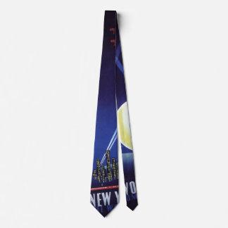 New York City World's Fair in 1939, Vintage Travel Tie