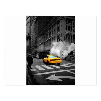 New York City Yellow Cab Postcard