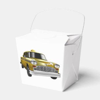 New York City Yellow Vintage Cab Favour Box