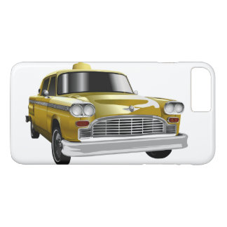 New York City Yellow Vintage Cab iPhone 7 Plus Case