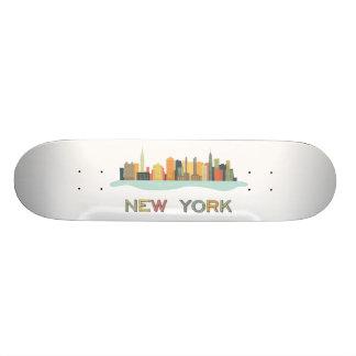 New York Cityscape Skate Deck