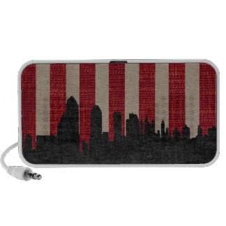 New York Cityscape iPhone Speakers