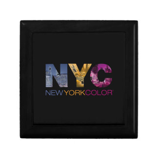 New York Color Collection Jewelry Boxes