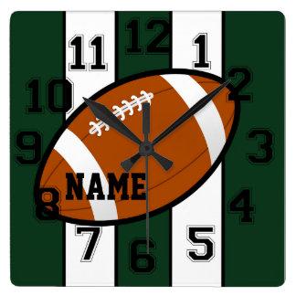 New York Colors Football Wall Clock