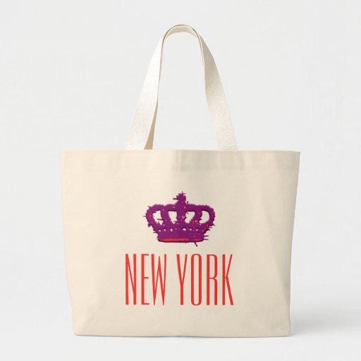 New York Crown Jumbo Tote Bag