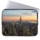 New York dawn skyline Laptop Sleeve