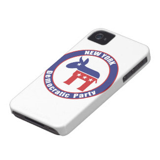 New York Democratic Party iPhone 4 Case-Mate Cases