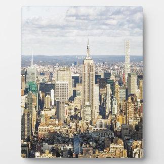 New York Display Plaques