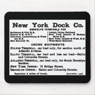 New York Dock Company Railroad Mouse Pad