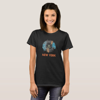 New York Dream Catcher Mandala Artsy T-Shirt