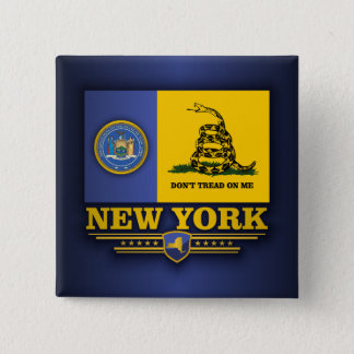 New York (DTOM) 15 Cm Square Badge