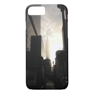 New York Empire State Building sunrise photo iPhone 7 Case