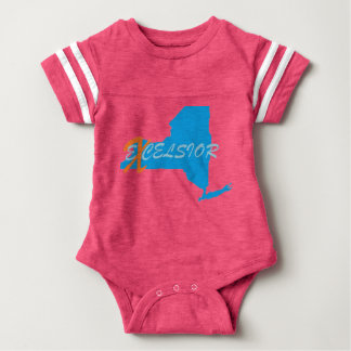 New York eXcelsior Baby Football Bodysuit