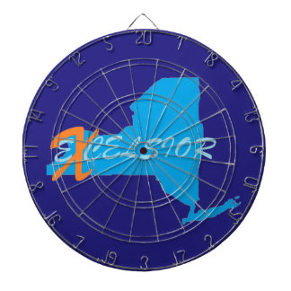 New York excelsior ProfiledInk Dart Board