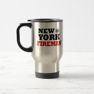 New York Fireman Travel Mug