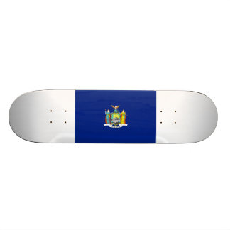 New York Flag Skate Deck