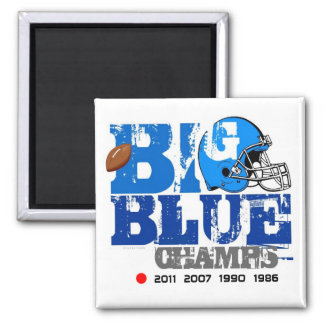 New York Football Champs Years Magnet
