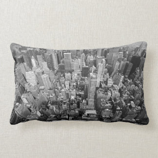 New York from Above Pillow