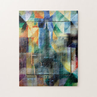 New York from the window Jigsaw Puzzle