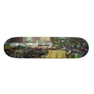 New York - George Bellows Skate Board